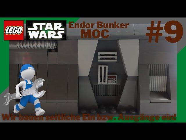 Letzte Wandstücke werden angebaut!🧱 I LEGO Star Wars Endor Bunker Moc #9