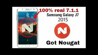 how to install nougat 7.1.1 on j7 2015 || lineage OS 14 for j7