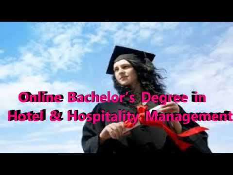 Online Bachelor's Degree in Hotel & Hospitality Management| Best Online Degree Programme