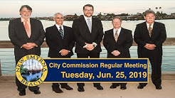 Regular City Commission Meeting 6.25.19 @ 6:30pm