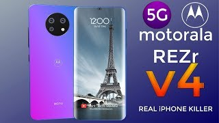 MOTORALA REZR V4 5G Introduction -  Price specs and release date | The Legend Reborn!!