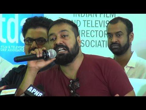 Udta Punjab-Anurag Kashyap & Film Industry Vs. Pahlaj Nihalani - Full Press Conference
