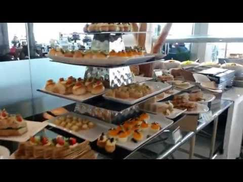 The buffet lunch, The Kingsbury Hotel, Colombo, Sri Lanka