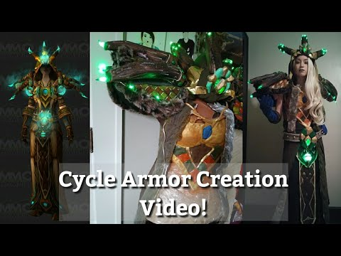 Cycle Armor from WoW Creation Video | SublimeLadyBlizzard