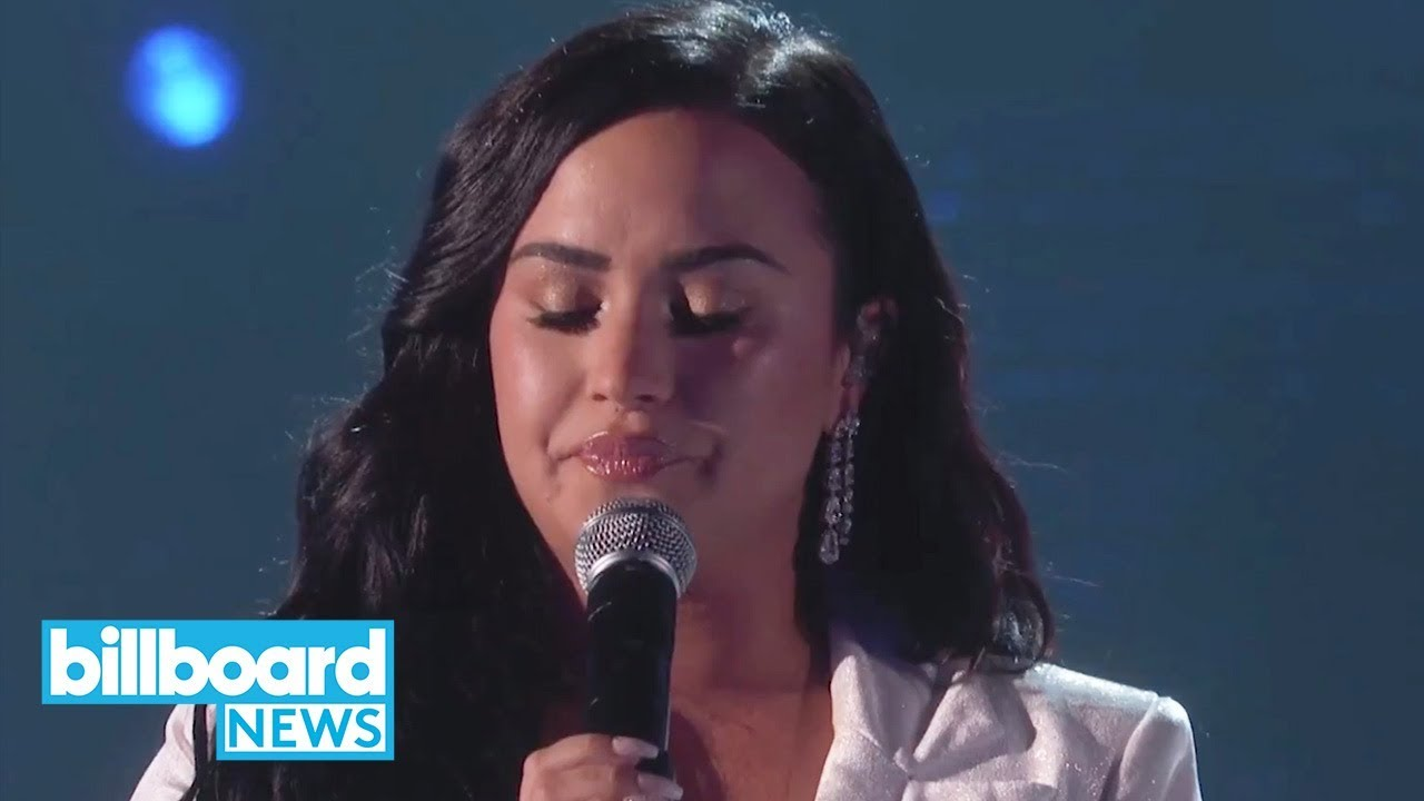 Demi Lovato's Journey to Her Emotional 2020 Grammys Comeback Performance | Billboard News