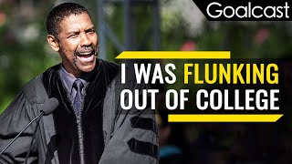 Don't Be Afraid to Fail Big, To Dream Big - Denzel Washington | Goalcast