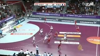 فرنسا تفوز على مصر في بطولة العالم لليد بالدوحة