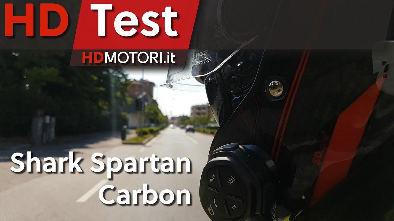 shark spartan carbon recensione del casco in carbonio. Black Bedroom Furniture Sets. Home Design Ideas