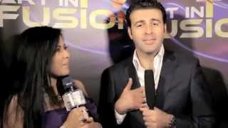 ART IN FUSION TV - Rebeca Riofrio interview DAVID SERERO - SINGER