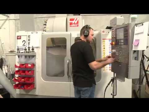CAD/CAM CNC Software And HAAS VF2 Machining Centre