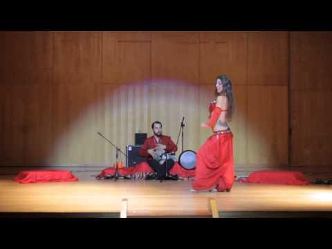 Ismail Altunbas & Myriam Soler. Concert in Vigo