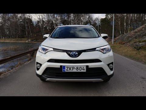 Kaaran Koeajossa Toyota RAV4 Hybrid 2016 - Osa 1/3 - Ominaisuudet Ja Tausta