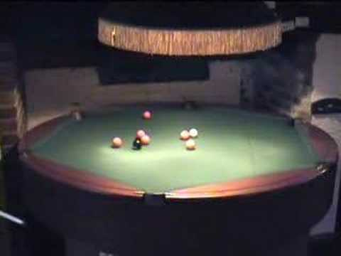 Round Table Pool YouTube - Circular pool table