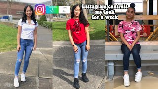 My Instagram Followers Control My Look For A Week