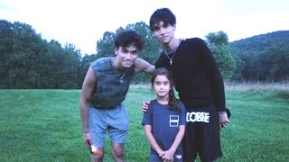 AT THE DOBRE BROTHERS HOUSE WITH LUCAS AND MARCUS!