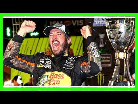 Martin truex jr. wins at homestead to capture first nascar cup championship