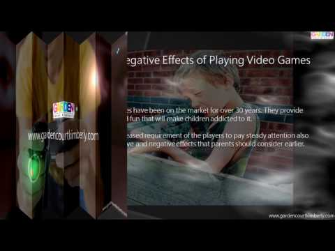video games have negative effects on Essay on the negative effects of violent video games 1529 words | 7 pages of media entertainment in recent years, video games have come under scrutiny as to whether.