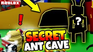 NEW ANT BOSS AND SECRET ANT CAVE FOUND?! (Roblox Bee Swarm Simulator Update)