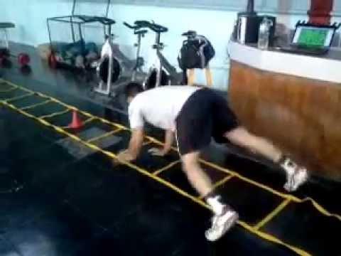 Handball: Circuito con ejercicios pliométricos