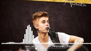 Let Me Love You IPhone Mix Tone Justin Bieber