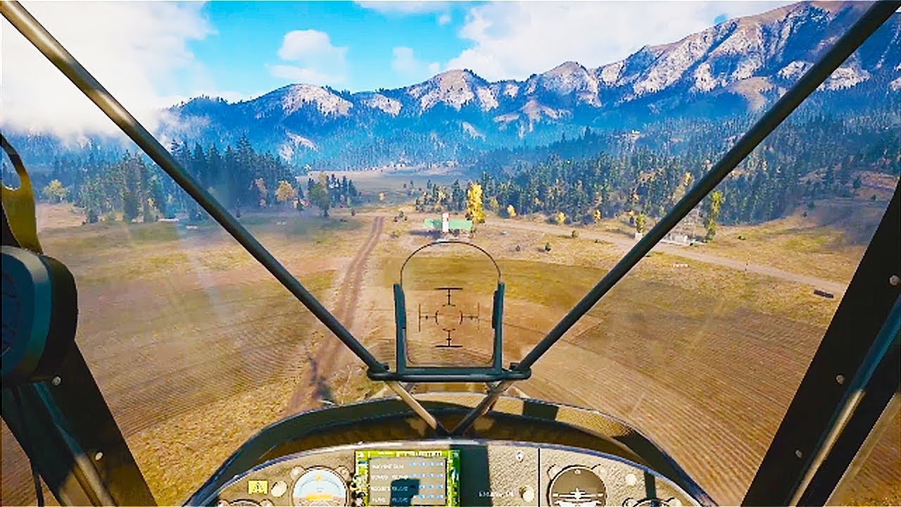 Far Cry 5 8 Minutes Of New Open World Gameplay Demo Ps4