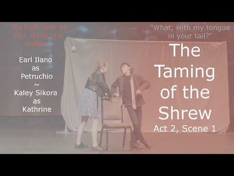 Taming of the Shrew: Act 2, Scene 1
