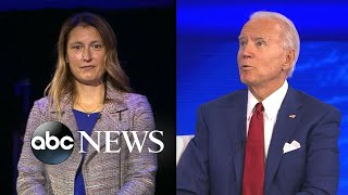 """Biden says """"there should be zero discrimination and what's happening is too many transgender women of color are being murdered.""""watch the full town hall: htt..."""