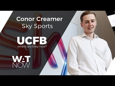 UCFB Alumni Series: Conor Creamer, Sky Sports