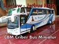 Miniatur Bis - Review Unit Cbm Karoseri Body Jetbus D
