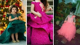#latest baby gown dress designs || Party Wear Dresses For Kids # kids gown ideas #2018-2019