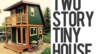 Two Story Tiny House In Wyoming