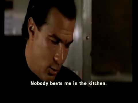 Under Seige 2: Dark Territory   1995   Steven Seagal   Nobody Beats Me In  The Kitchen 🇺🇸🇧🇷🇬🇧
