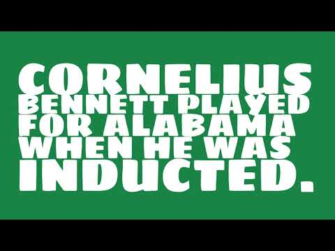 Who did Cornelius Bennett play for?