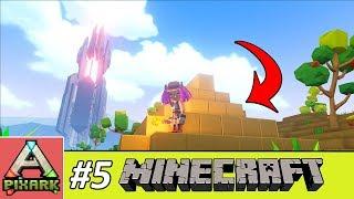 PIXARK - Minecraft Ark #5 - Inside The Shit House - Bên Trong Căn Nhà Giống Như Cục Shit