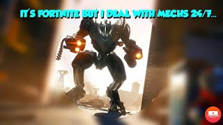 Fortnite.. Thoughts on Mech vs Monster Event, playing like bots, The Worst Luck of all Time.