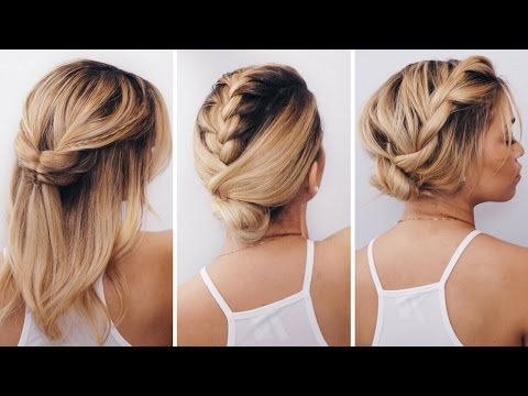 3 Simple Short Hairstyles for Summer ft Innate Life | Giveaway | Ashley Bloomfield