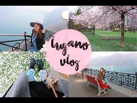 TRAVEL VLOG: Lugano, Switzerland (ENG SUB)