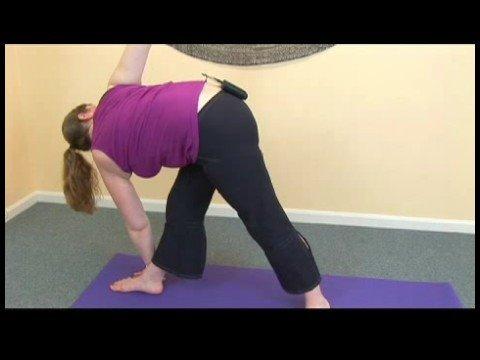 advanced yoga poses  twists  yoga twisting triangle pose