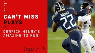 Derrick Henry PUTS THE TEAM ON HIS BACK for 99-Yard TD!