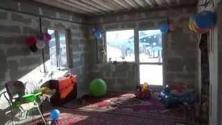 Строительство дома из пеноблока 200 мм.в Перми .2013 г.