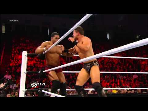 The Miz vs. David Otunga: Raw, Nov. 19, 2012