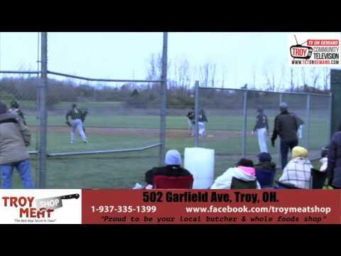 Troy Christian High School Baseball Highlights: Troy Christian vs Oakwood (04/02/16)