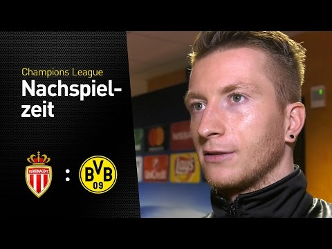 Marco Reus nach dem Aus in der Champions League | AS Monaco - BVB 3:1