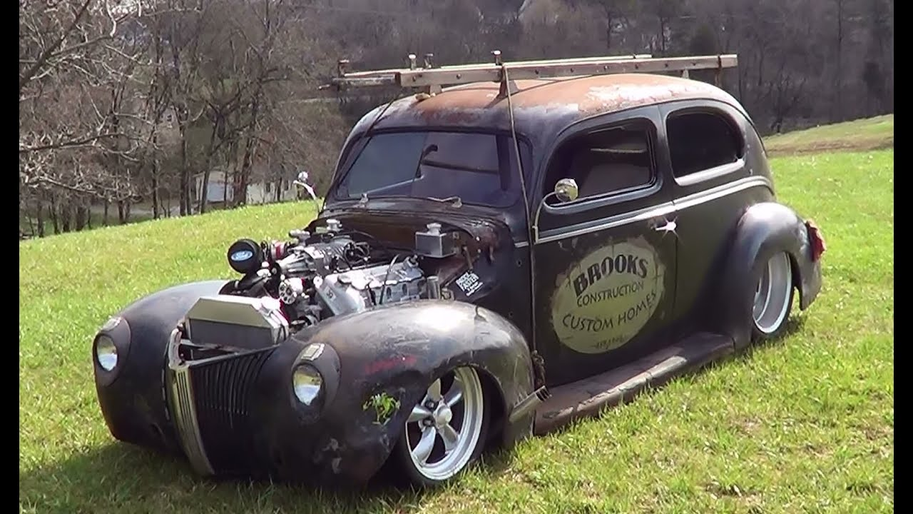 1940 Chevy Truck >> 40 Ford Traditional Hot Rod - YouTube