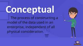 Conceptual Database Design part 1