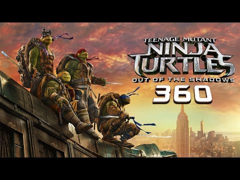 Teenage Mutant Ninja Turtles: Out of the Shadows | 360 Video | Paramount Pictures International