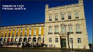 Portugal - Terreiro de Paço - A Praça do Comercio