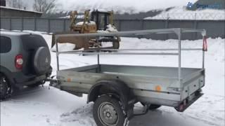 Клиент с прицепом Трейлер Прораб, кузов 2,5х1,27 м