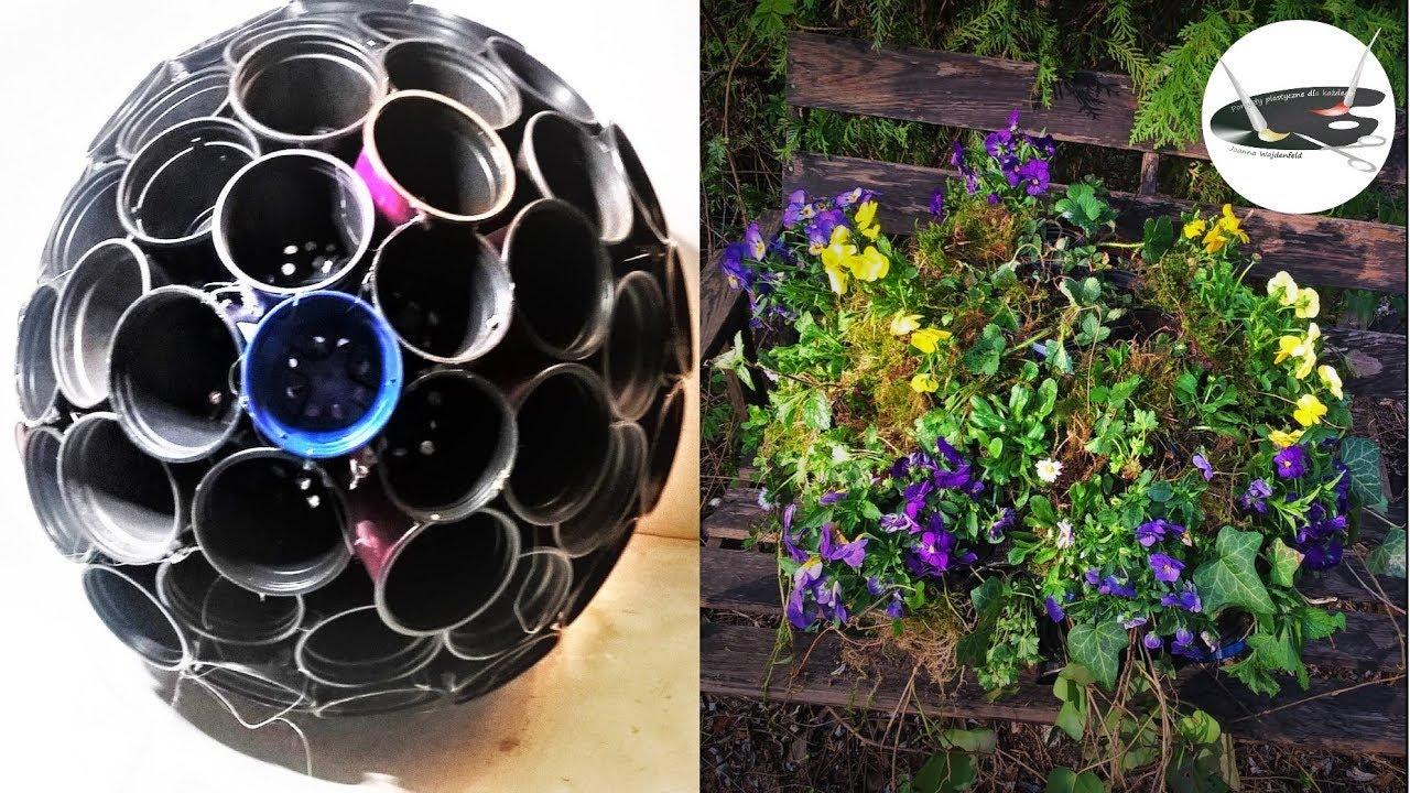 Jak Zrobić Kwietnik Kulę Z Doniczek Pomysły Plastyczne Dla Każdego