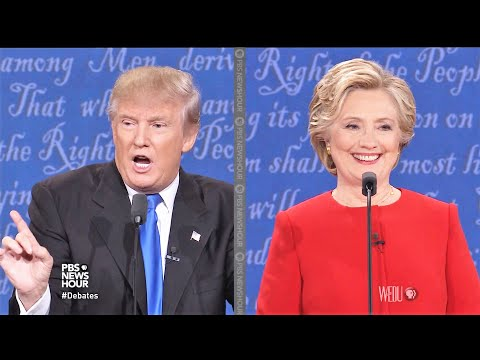 The First Presidential Debate 2016 | Trump vs Hillary [FULL]